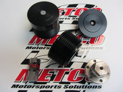 Metco Motorsports Hellcat Supercharger Pulley Kit