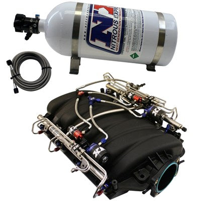 Nitrous FACTORY LS3 INTAKE W/ NX PIRANHA DIRECT PORT INTAKE012