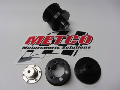METCO MOTORSPORTS LT4 Supercharger Pulley 2015+ CORVETTE Z06 , CADILLAC