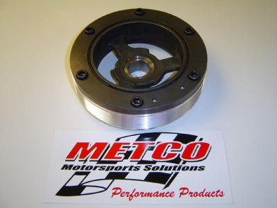 Metco MCP2005 Overdrive Crank Pulley 2005+ Mustang