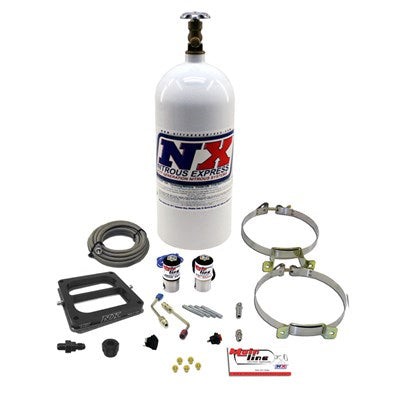 Nitrous Express MAINLINE 4500 CARB SYSTEM WITH 10LB BOTTLE