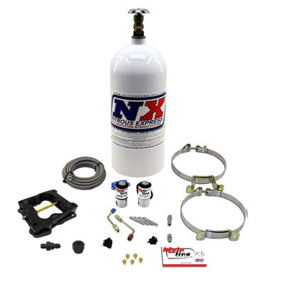 Nitrous MAINLINE Q-JET CARB SYSTEM WITH 10LB BOTTLE Ml1002
