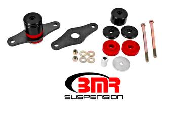 BMR Suspension MM007, Motor Mount Kit, Polyurethane Bushings, 2015-2017 Mustang