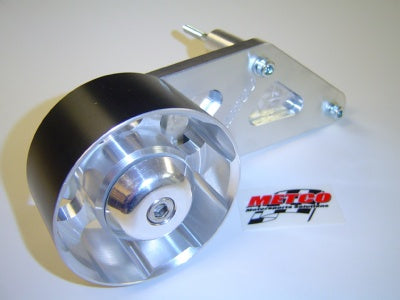 METCO 2007+ Shelby GT500 Auxiliary Idler Kit with Double-Bearing Idler Pulley MSI-90D