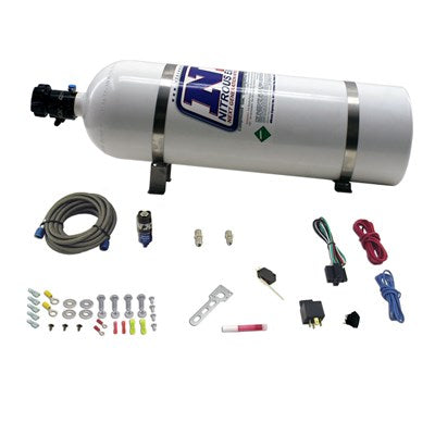 Nitrous Express NXD11110 DIESEL DRY NITROUS SYSTEM INCLUDES 15LB BOTTLE, 50HP