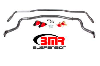 BMR Suspension SB043, Sway Bar Kit With Bushings, Front (SB044), Rear (SB045)