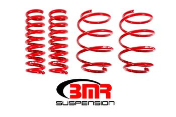 BMR Suspension SP041, Lowering Springs, Set Of 4, Performance Version
