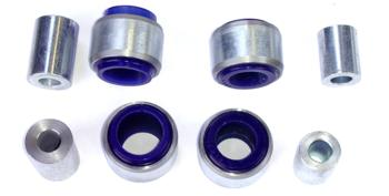 BMR Bushing Kit, Rear Toe Rod, Non-Adjustable