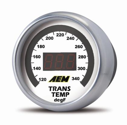 AEM Digital Transmission, Oil or Coolant Temp Gauge (100-300 F) - 30-4402