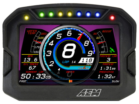 AEM CD-5 Carbon Digital Racing Dash Displays - 30-5600