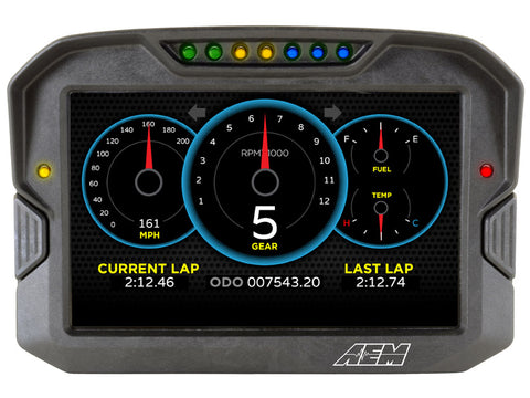 AEM CD-7 Carbon Digital Racing Dash Displays - 30-5700F