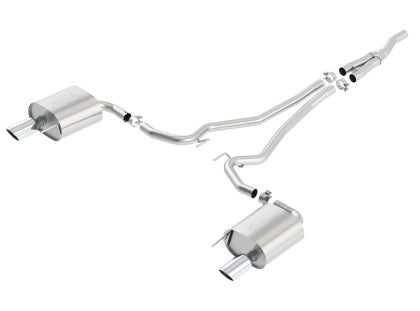 Borla ATAK Cat-Back Exhaust for 2015-2018 Mustang 2.3L EcoBoost 140585