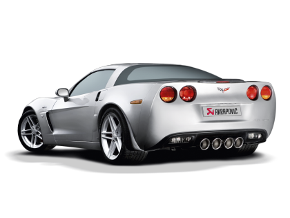 Akrapovic Chevrolet Corvette 2006-2013 ZO6/ZR1 C6 Slip-On SS