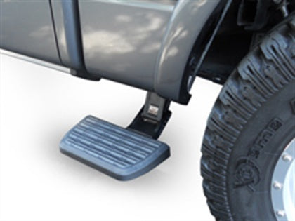 AMP Research 75406-01A BedStep2 Retractable Truck Bed Side Step for 2019 Ram Classic, 2009-2018 Ram 1500, 2010-2013 Ram 2500/3500 Mega Cab