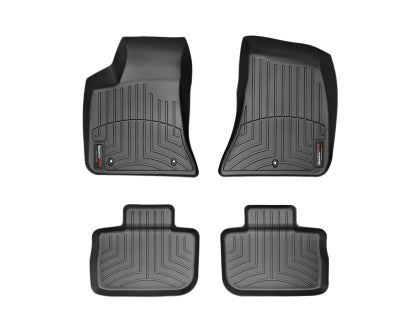 WeatherTech® Floor Mats FloorLiner - Dodge Charger with RWD - 2011-2018 - Black