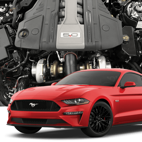 Hellion 2018+ Ford Mustang GT Top Mount Twin Turbo System