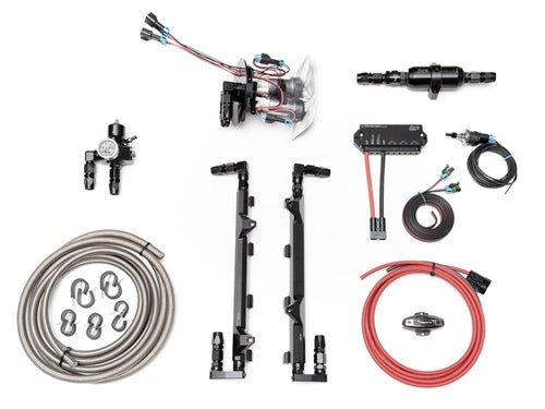 Fore Innovations L2 Dual Pump Complete Return Style Fuel System (2018+ Trackhawk) - 49-622