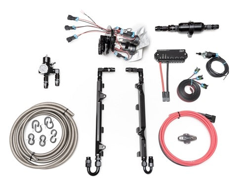 Fore Innovations L2 Triple Pump Complete Return Style Fuel System (Jeep Trackhawk) - 49-623