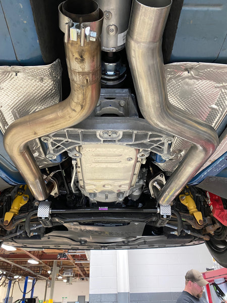 ARH Hemi Catless Midpipes 2015 - 2019 Hellcat & Scatpack Challenger / Charger & 2018 Demon