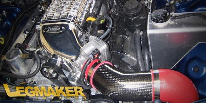 LMI Magnuson True Carbon Fiber Cold Air Intake - 5.7 & 6.1 - LX | LC - 2005+ Dodge Charger, Magnum, Challenger and Chrysler 300 vehicles equipped with an Magnuson Supercharger