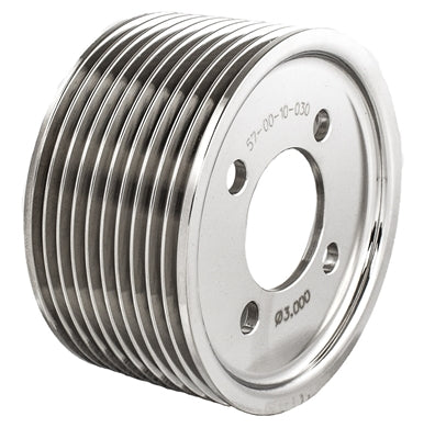 "Magnuson Supercharger Two-Piece Pulley 10 Rib 3.000"" Diameter .015"" Offset - 57-00-10-030"