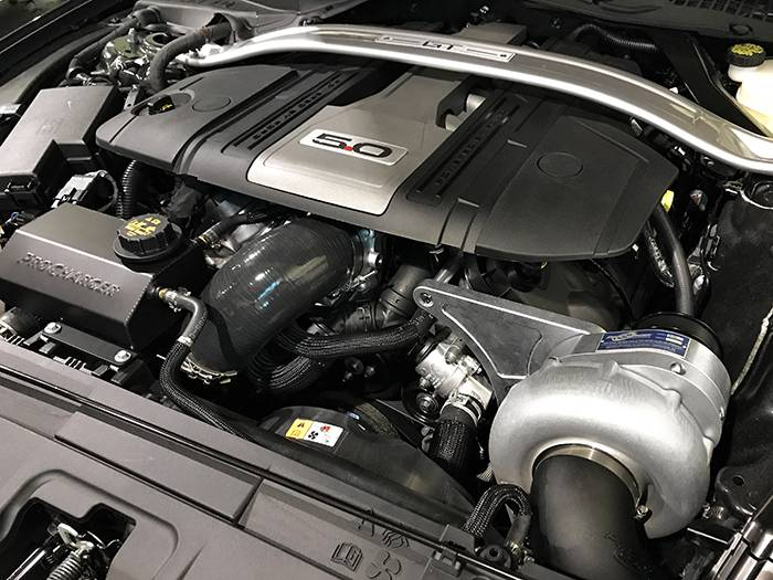 ProCharger FORD MUSTANG 5.0L GT 2018-2020 PROCHARGER HO INTERCOOLED P-1SC-1 TUNER KIT