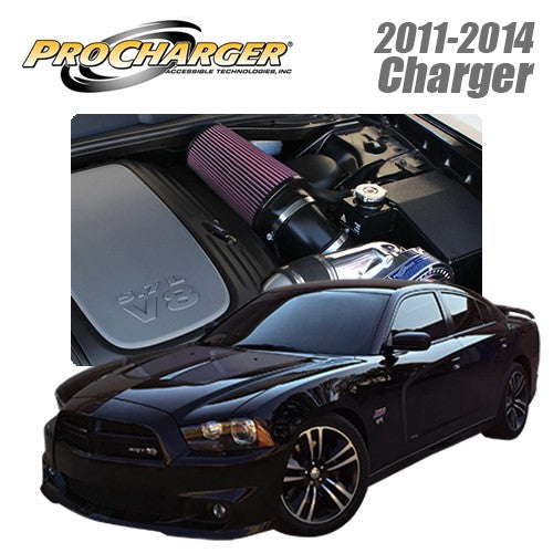 ProCharger 2011 - 2014 Dodge Charger 5.7L HEMI High Output Supercharger Kit