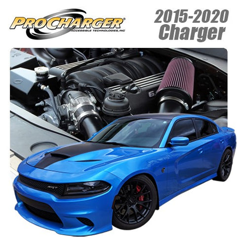 ProCharger 2015 - 2020 Dodge Charger 6.4L HEMI High Output Supercharger Tuner Kit