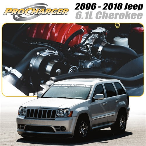 ProCharger 2006 - 2010 Jeep Cherokee SRT8 6.1L HEMI Supercharger Tuner Kit