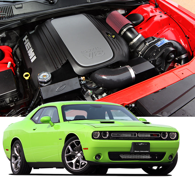 ProCharger 2015 - 2020 Dodge Challenger 5.7L HEMI High Output Supercharger Tuner Kit