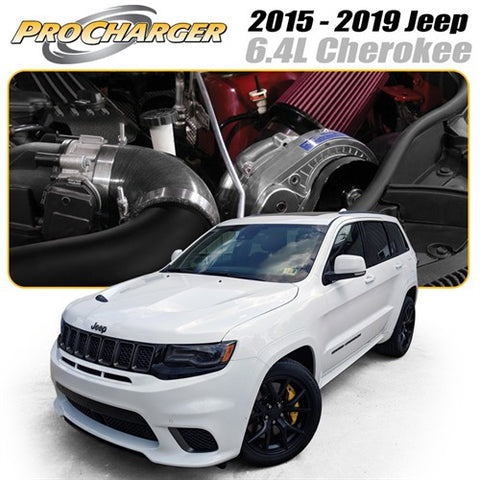 ProCharger 2015 - 2020 Jeep Cherokee SRT 6.4L HEMI Supercharger Tuner Kit