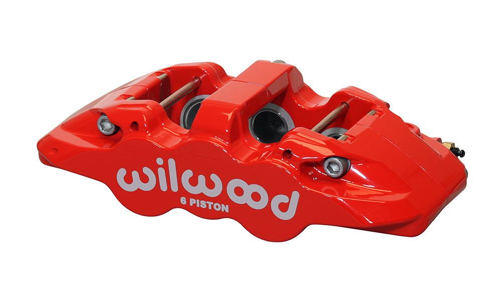 TCE Wilwood Aero6 radial mount calipers (6 piston) 2005-2020 5.7L/6.1L/6.2L/6.4L 300c Charger Challenger Magnum