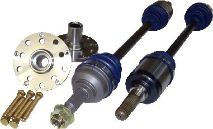 DSS Dodge 2013+ Viper (Gen 5) 1200HP Level 5 Direct Bolt-In Axle with Female Inner - Left/Right