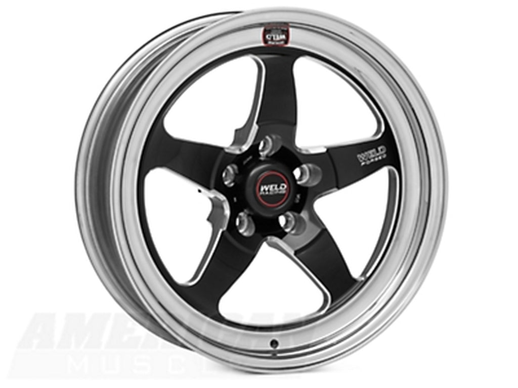 Weld Racing 17x5 LC/LX SRT Black Center - Front Rim