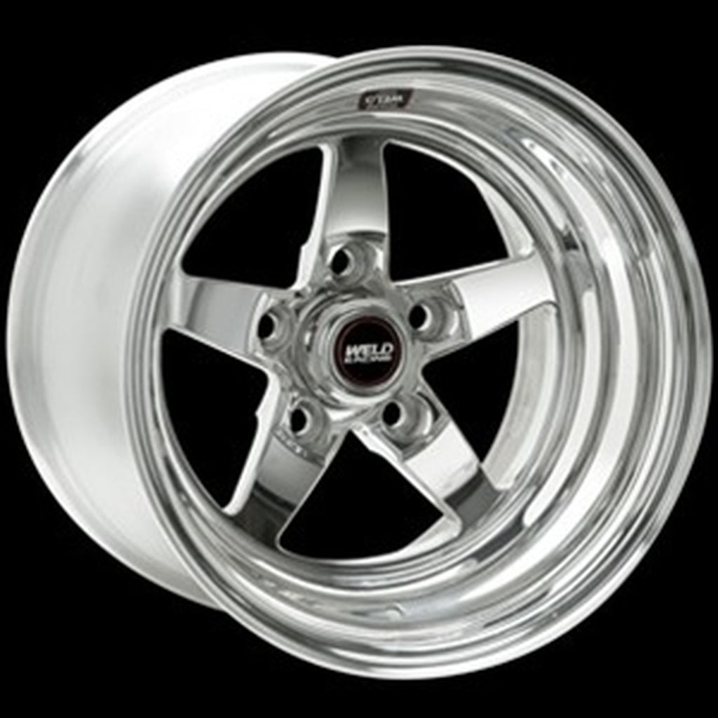 Weld Racing 17x9 LC/LX SRT Polished Center