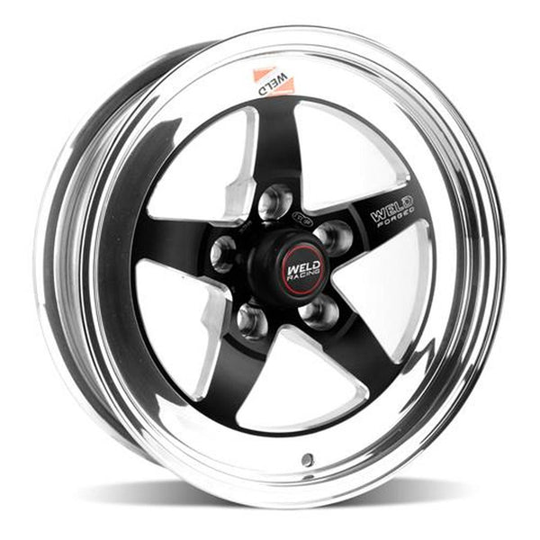 Widebody Challenger Weld Racing RT-S S71 20x7 / 5x115mm BP / 2.3in. BS Black Drag Wheel (High Pad) - Non-Beadlock