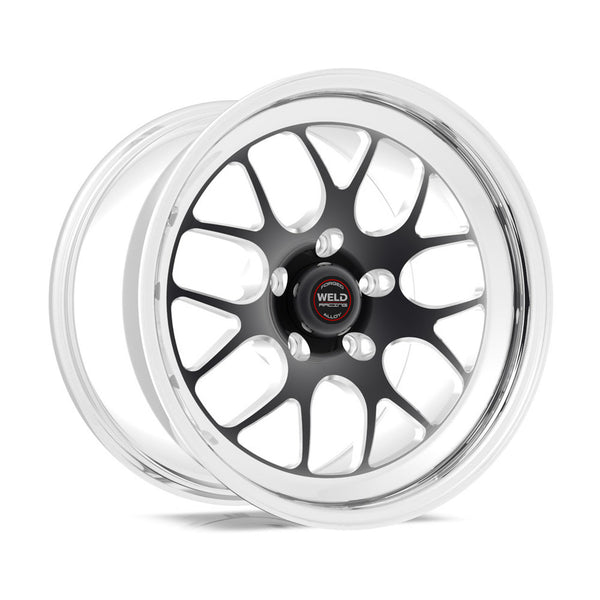 Widebody Challenger Weld Racing RT-S S77 17x11 / 5x115mm BP / 5.8in. BS Black Drag Wheel (Medium Pad) - Non-Beadlock