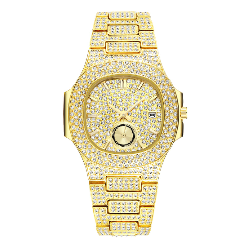 """The Icon"" Iced Out Watch"