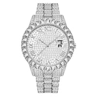 """The Caesar"" Iced Out Watch"