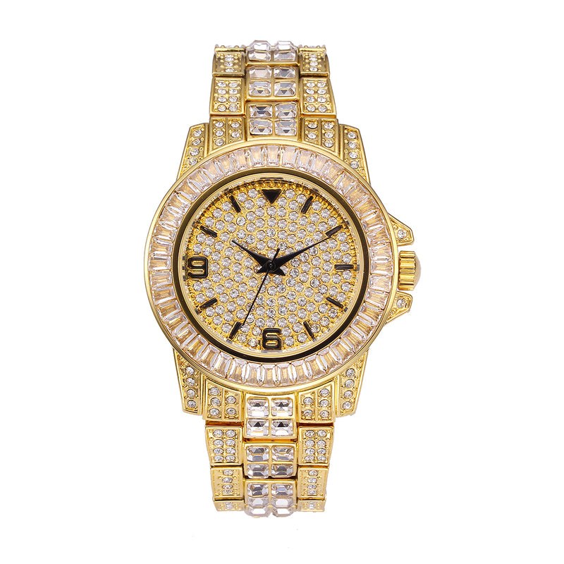 """The Imperial"" Iced Out Watch"