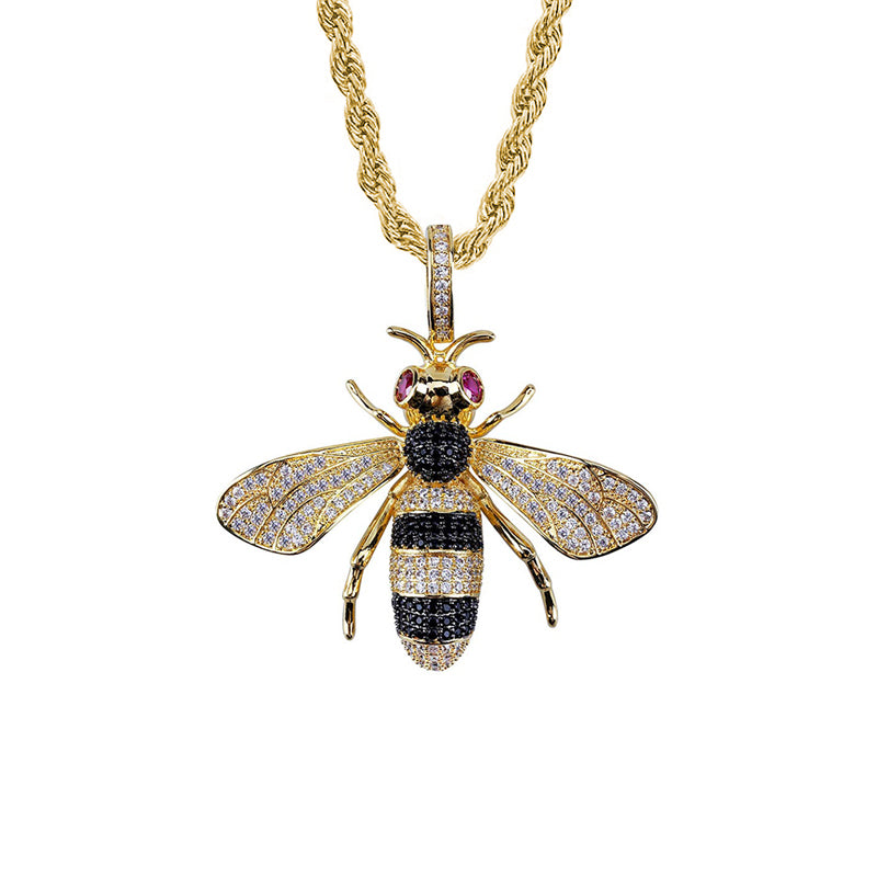 "Iced ""Gucci Bee"" Pendant"
