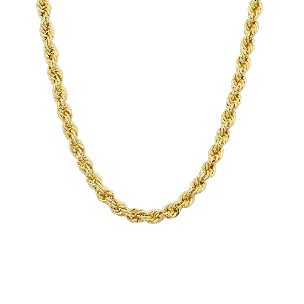 24K Plated Rope Chain