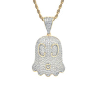 "Iced ""Gucci Ghost"" Pendant"