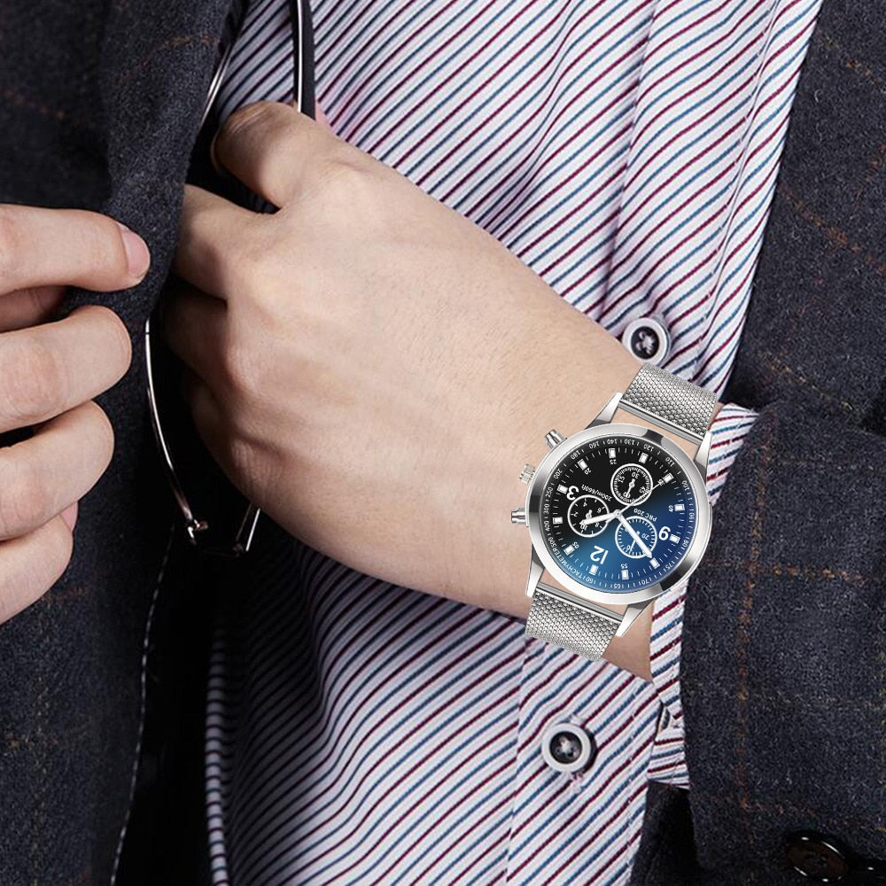 Relogio Fashion Quartz Men Watch Net With Color Pointer Colorful Scale Watches Wrist Watch Clock Retro Unique Wristwatch relojes