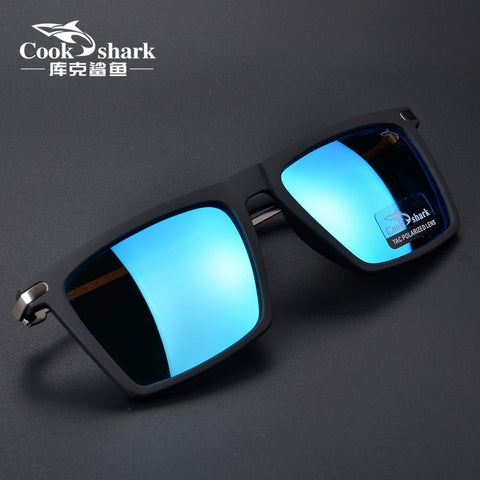 Cookshark sunglasses men polarized net red sunglasses women personality tide driving glasses