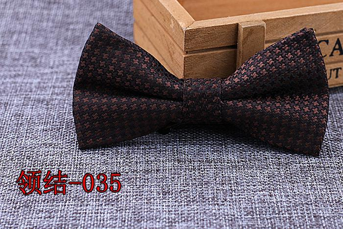Brand New 100% Microfiber Bowtie Woven Dot Checked Stripped Bow Tie Butterfly Wedding Dress Mens Formal Dot Dog Butterfly Blue