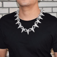 "Iced ""Punk Stud"" Chain *EXCLUSIVE*"