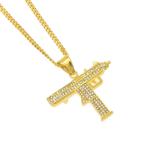 Uzi Pendant Necklace