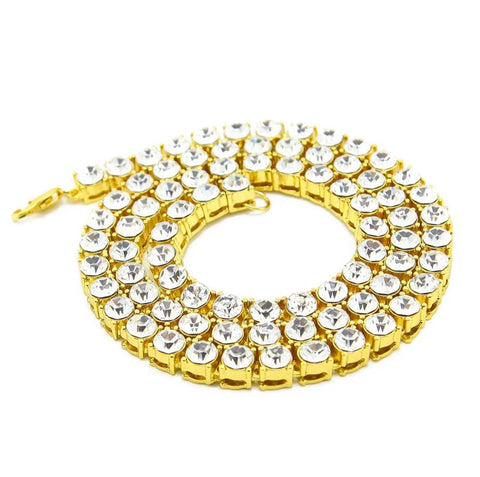 18K Halcyon Tennis Necklace