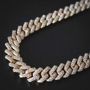 "Iced ""Diamond Prong"" Chain"